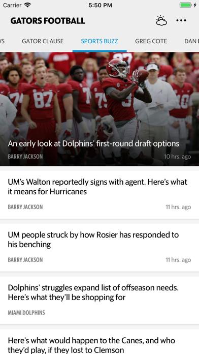 News for Gators Football screenshot two