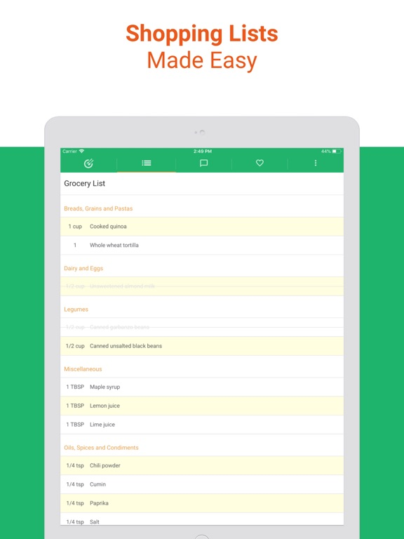 Kind Meals - Healthy Vegetarian Meal Plan screenshot