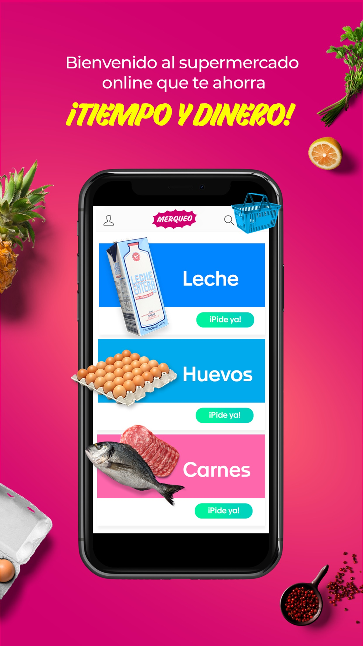 Merqueo - Mercado a Domicilio Screenshot
