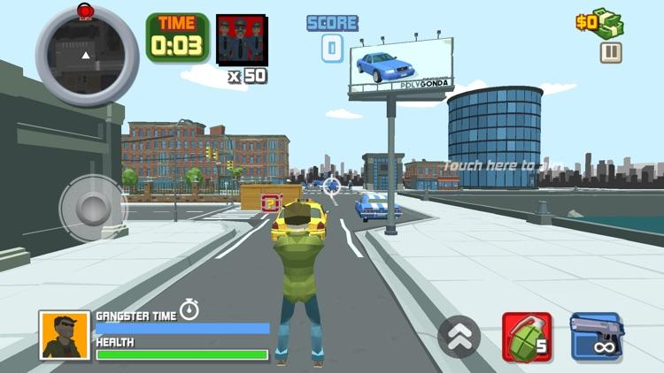 Gangster Crime Auto Polygon screenshot-3