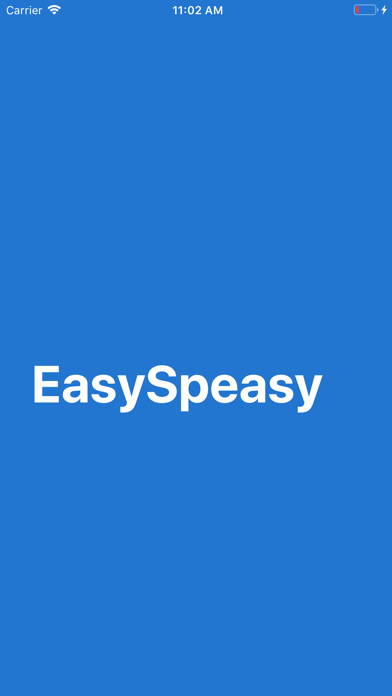 Screenshot #1 pour EasySpeasy