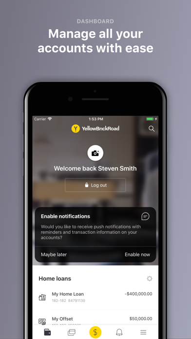 YBR Empower Mobile Account screenshot two