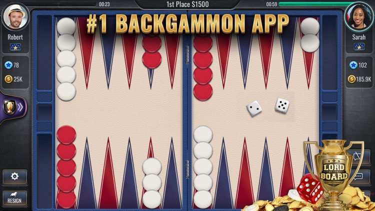 Backgammon - Lord of the Board screenshot-8