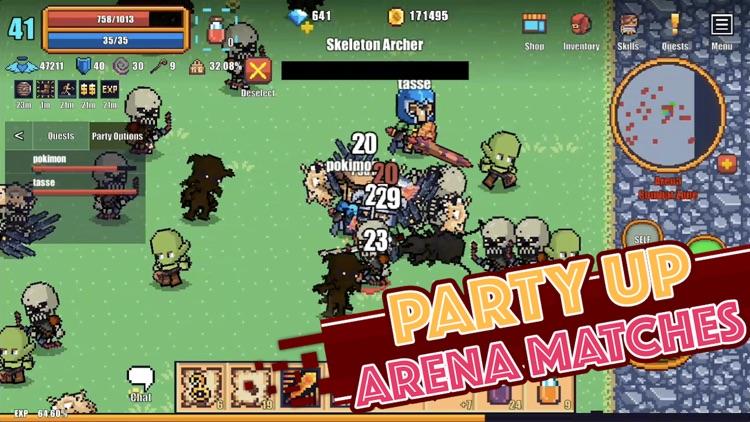 Pixel Knights Online - MMORPG screenshot-5