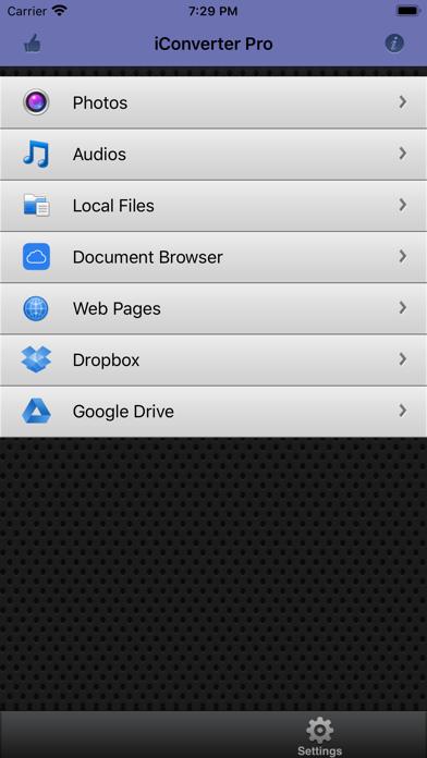 iConverter Pro - Convert Filesのおすすめ画像1