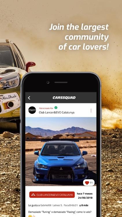 CarsSquad: Social network cars screenshot-5