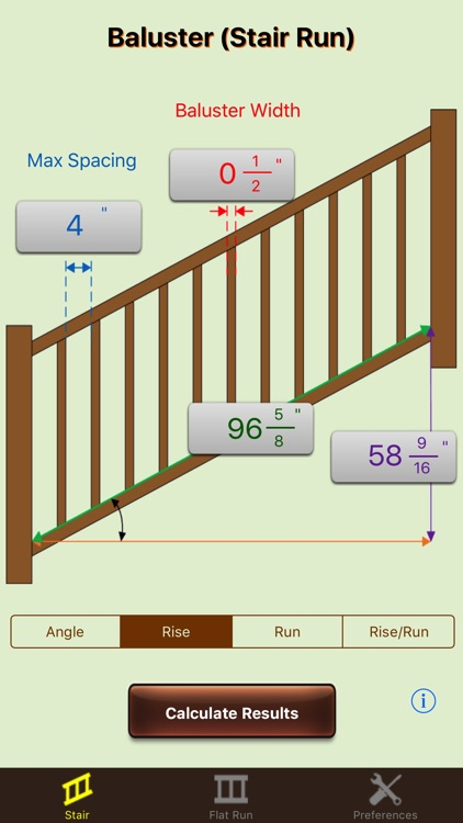 Baluster Calculator Elite