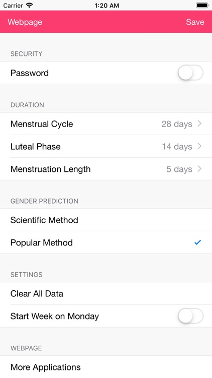 Fertility and Period Tracker screenshot-4