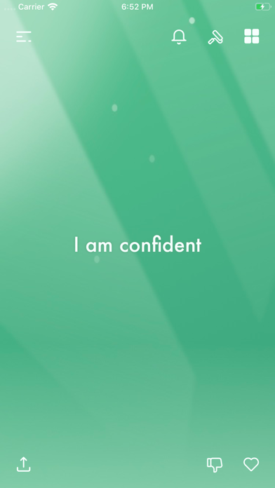 Screenshot I am - Daily Affirmations