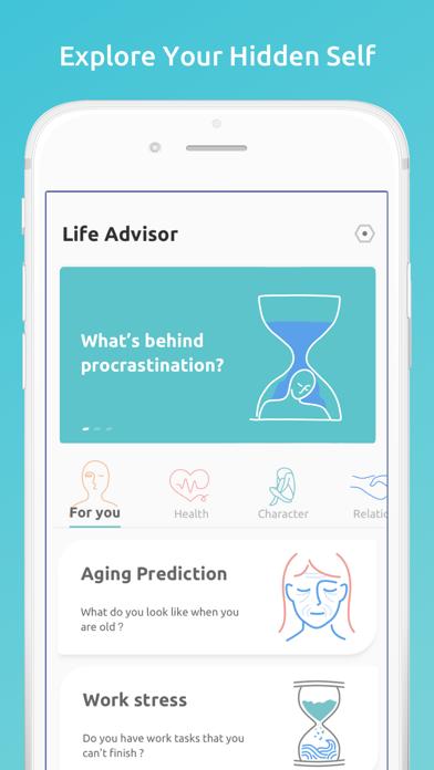 Life Advisor: Personal Test