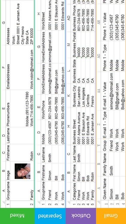 SA Contacts Lite screenshot-4