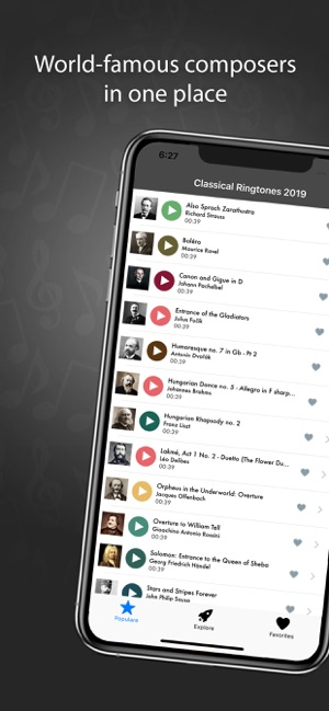 Classical Music Ringtones 2019 on the App Store