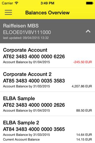 Raiffeisen Business Banking - náhled