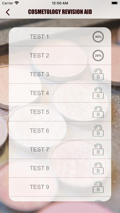 Cosmetology Exam Revision Aid screenshot 2