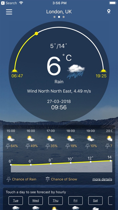 天气 : 天气预报 Pro App 截图