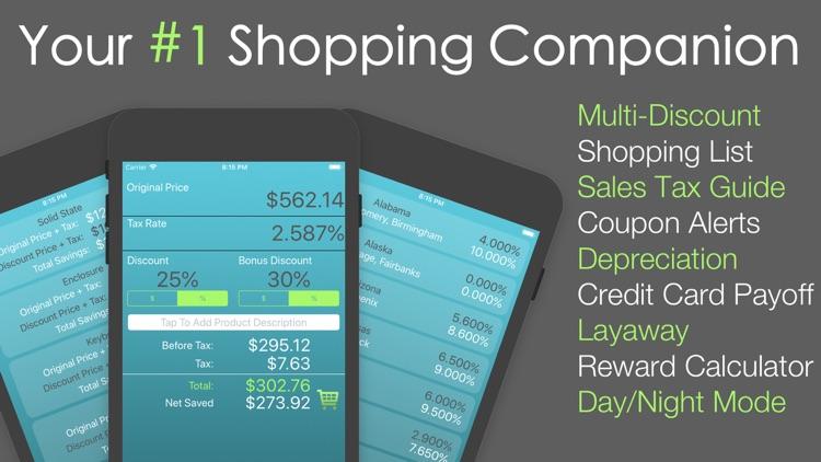 Discount Calculator % Off App screenshot-0