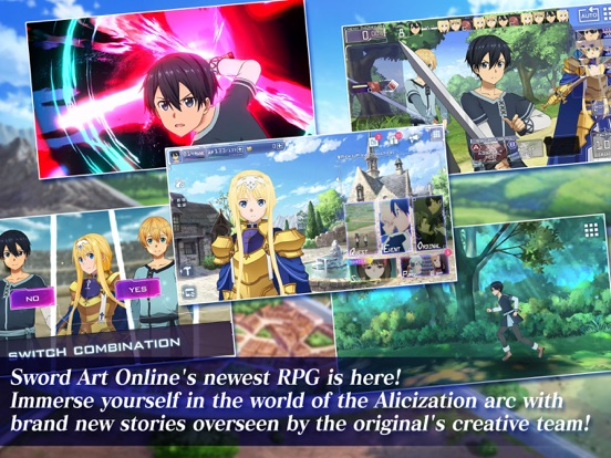 SAO Alicization Rising Steel screenshot 7