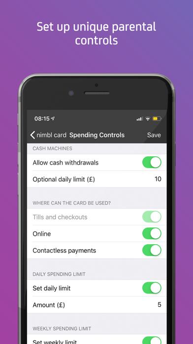 nimbl Banking for young people screenshot three
