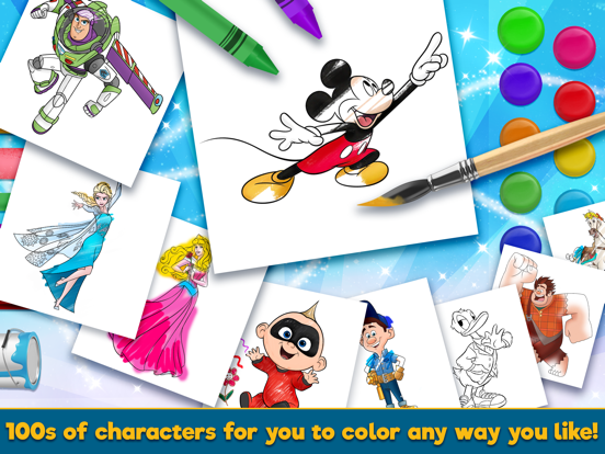 Disney Coloring World screenshot 7