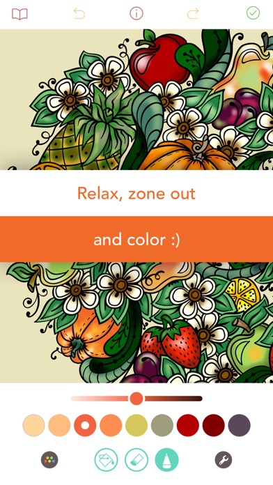 Pigment - Adult Coloring Book Screenshot