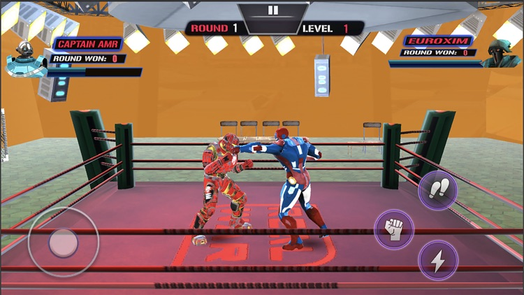 Robot Hero Ring Fighting