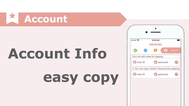 MEMORU / Simple Note App screenshot-3