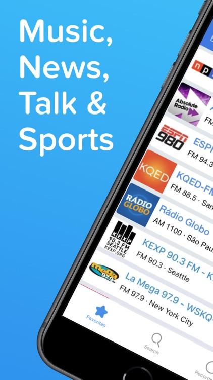 Simple Radio – Live AM FM App screenshot-0