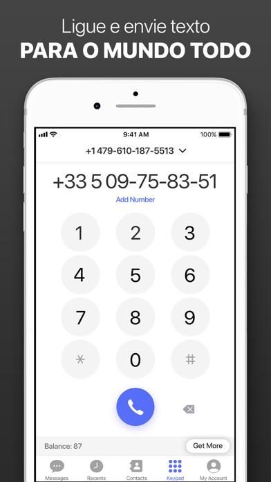 Screenshot for Número Privado e Virtual in Brazil App Store