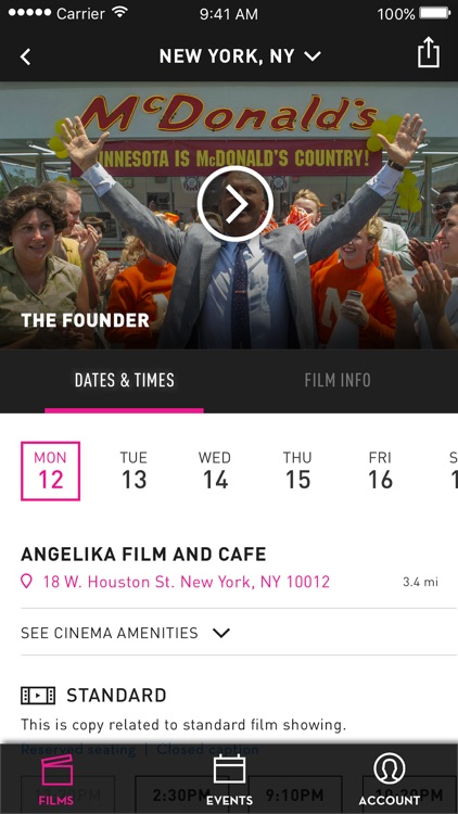 Angelika Film Center & Cafe screenshot-3