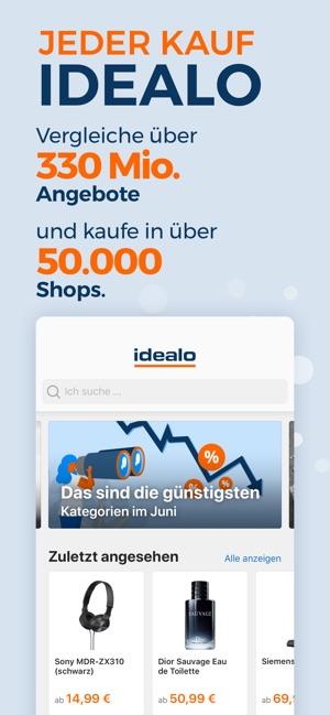 Idealo Preisvergleich Shopping Im App Store