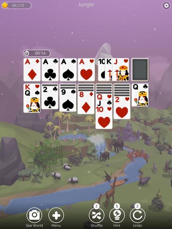 Solitaire Planet Zoo screenshot 12