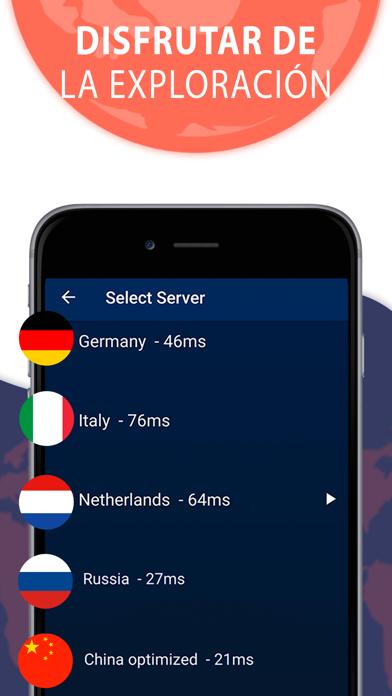 Screenshot for Tunnel Light VPN Onavo Protect in Ecuador App Store