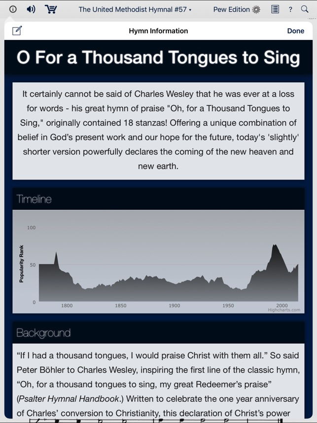 The United Methodist Hymnal on the App Store