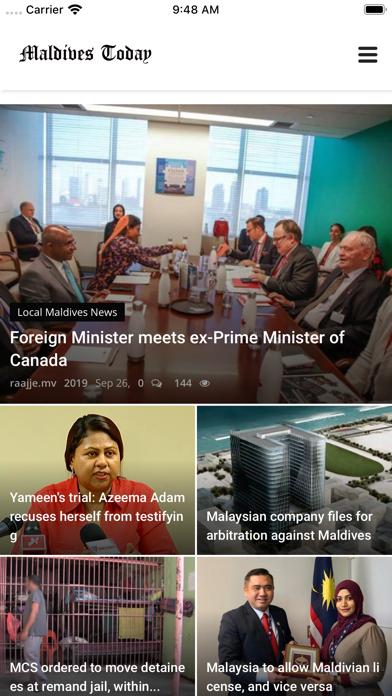 Maldives Today screenshot 2