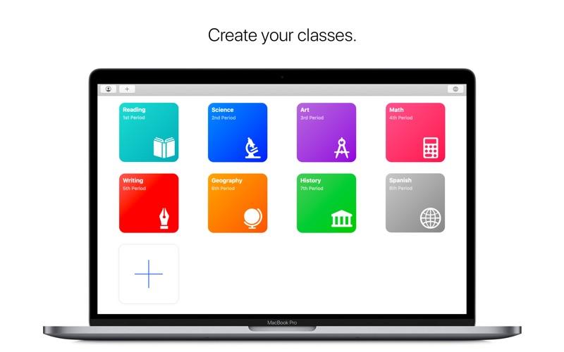 Classroom screenshot 2