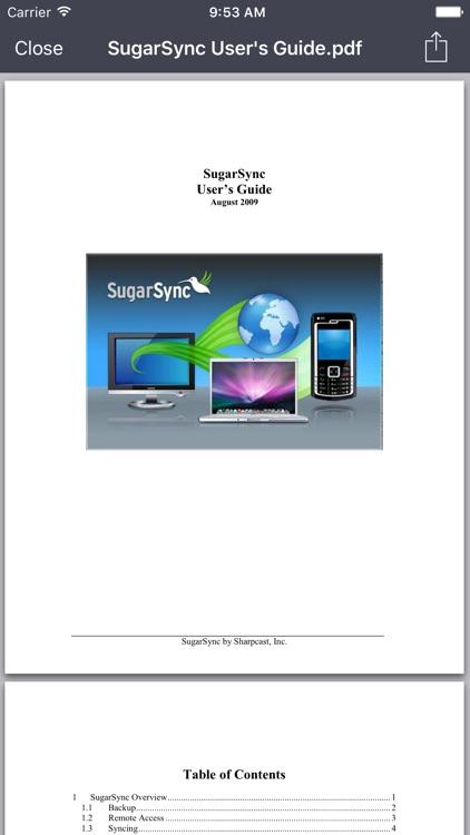 SugarSync screenshot-4