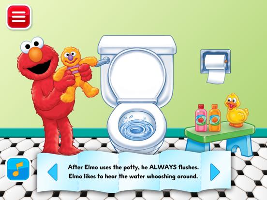 Potty Time with Elmo screenshot