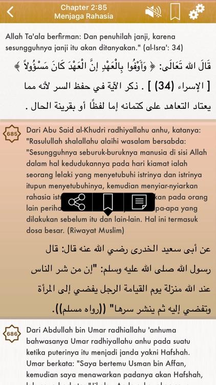 Indonesian Riyad Salihin Audio screenshot-4