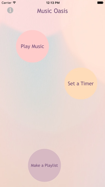 Music Oasis for Relaxation