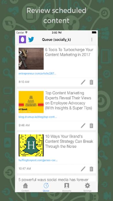 DrumUp-Social Media Management screenshot two