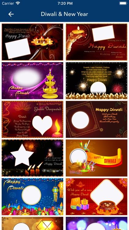 Diwali & New Year Pip Frames screenshot-6