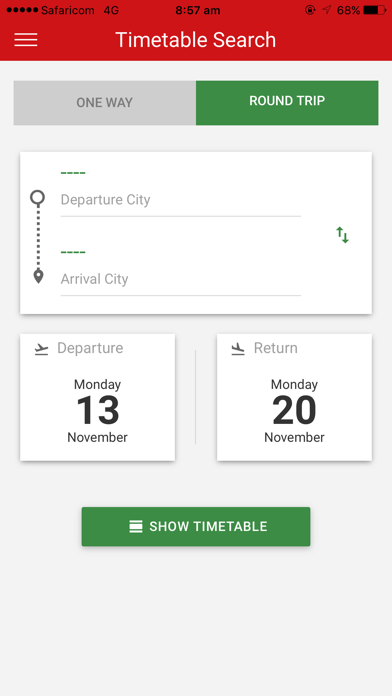 Kenya Airways screenshot four