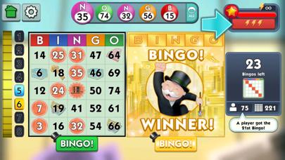 Screenshot of MONOPOLY Bingo!1