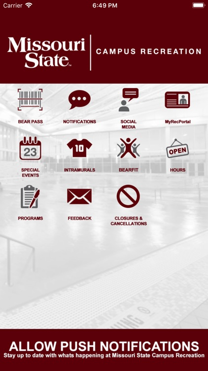 MSU CAMPUS RECREATION screenshot-0