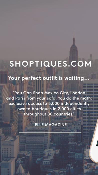 Shoptiques. Shop local stores. screenshot one