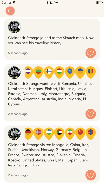 ScratchMap: record your trips screenshot-3