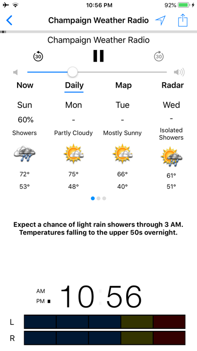 NOAA Weather Radio app image