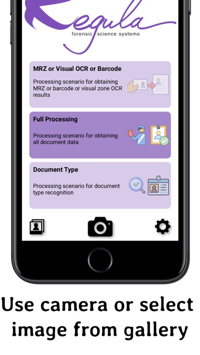 Screenshot for Regula Document Reader in Thailand App Store