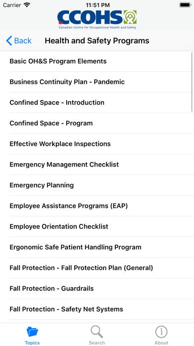 OSH Answers screenshot 5