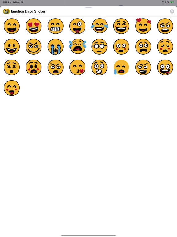Emotion Emoji Stickers screenshot 4